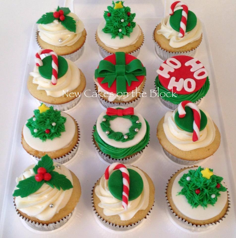 Christmas Themed Cupcakes  Christmas Themed Cupcakes CakeCentral