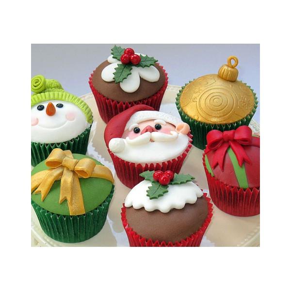 Christmas Themed Cupcakes  Christmas Themed Cupcakes 3 hr Intensive Workshop