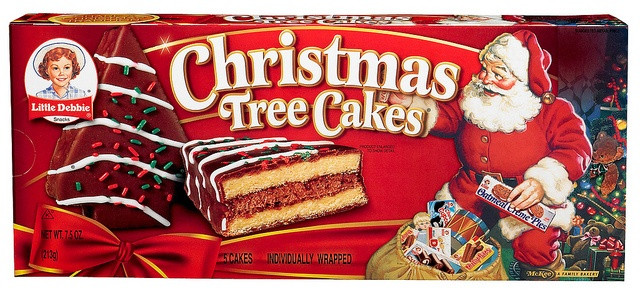 Christmas Tree Cakes Little Debbie  24 best Little Debbie Christmas Treats images on Pinterest