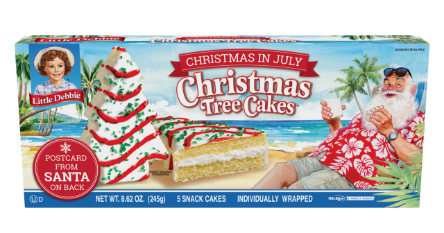 Christmas Tree Cakes Little Debbie  Walmart Selling Little Debbie Christmas Tree Cakes This