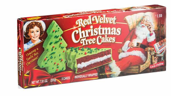 Christmas Tree Cakes Little Debbie  Little Debbie Red Velvet Christmas Tree Cakes 5 Count