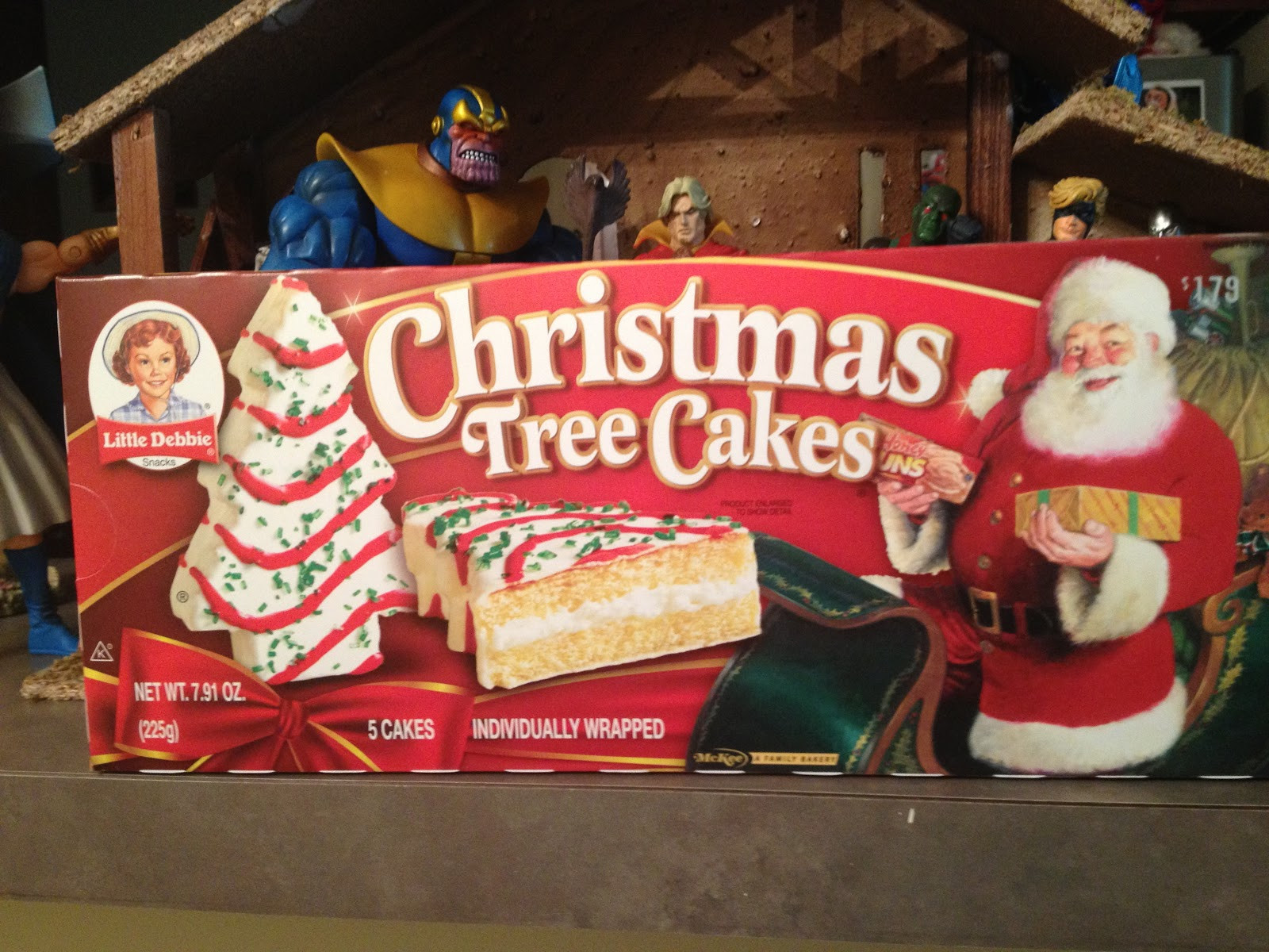 Christmas Tree Cakes Little Debbie  The Nerduary Christmas Treat Review Little Debbie