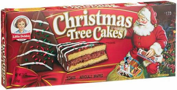 Christmas Tree Cakes Little Debbie  Little Debbie Christmas Tree Cakes Chocolate 5 Cakes