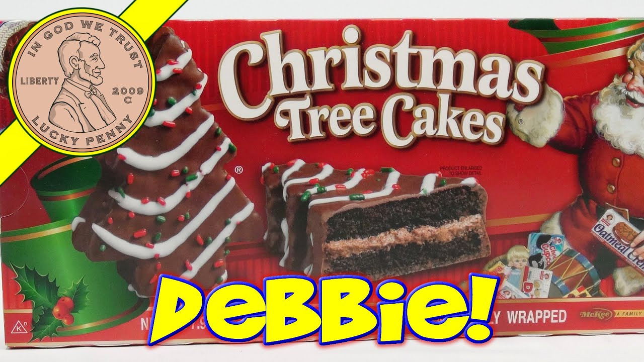Christmas Tree Cakes Little Debbie  Little Debbie Christmas Tree Snack Cakes Oh Christmas
