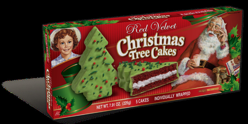 Christmas Tree Cakes Little Debbie  Little Debbie Holiday Cakes
