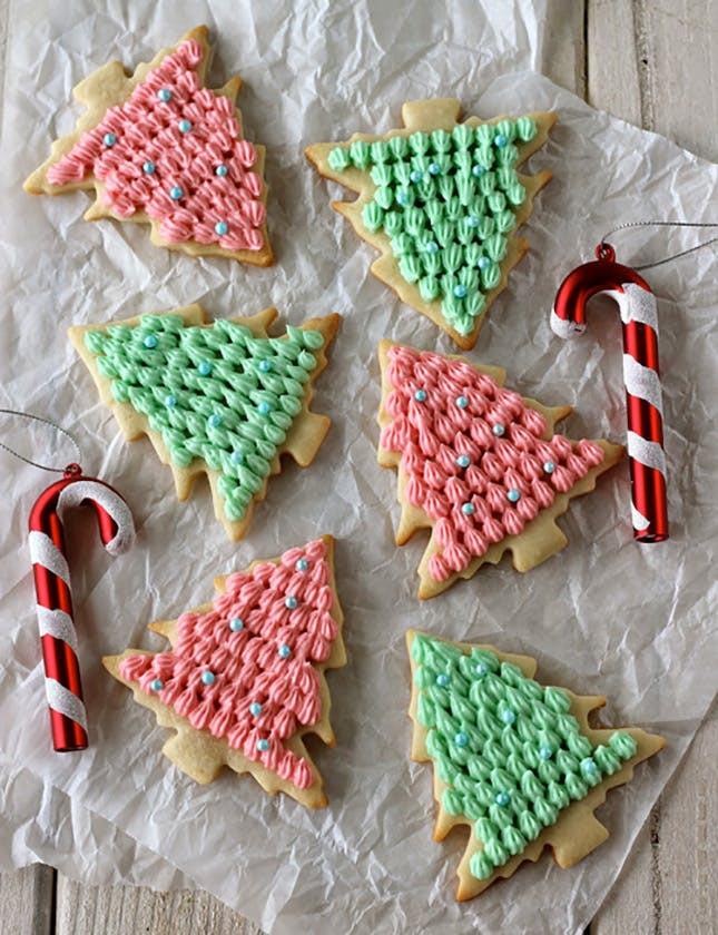 Christmas Tree Cookies Recipe  25 Creative Christmas Cookie Recipes