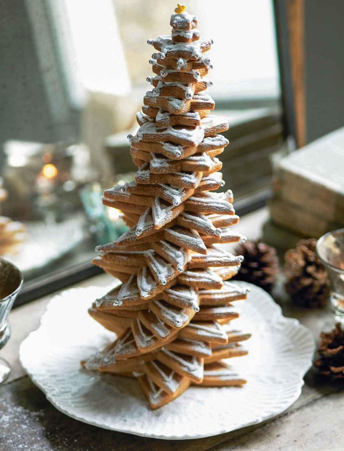 Christmas Tree Cookies Recipe  Christmas Tree of Cookies Recipe