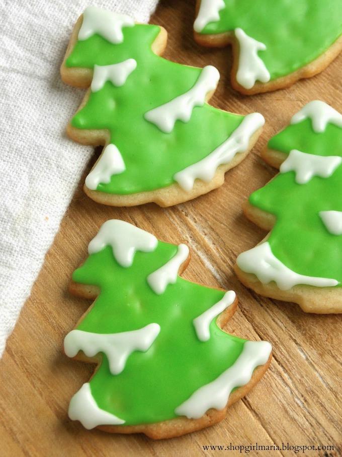 Christmas Tree Cookies Recipe  7 Christmas Sugar Cookies