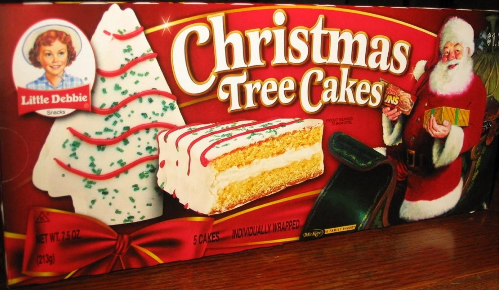 Christmas Tree Snack Cakes  Yankee Belle Cafe November 2012