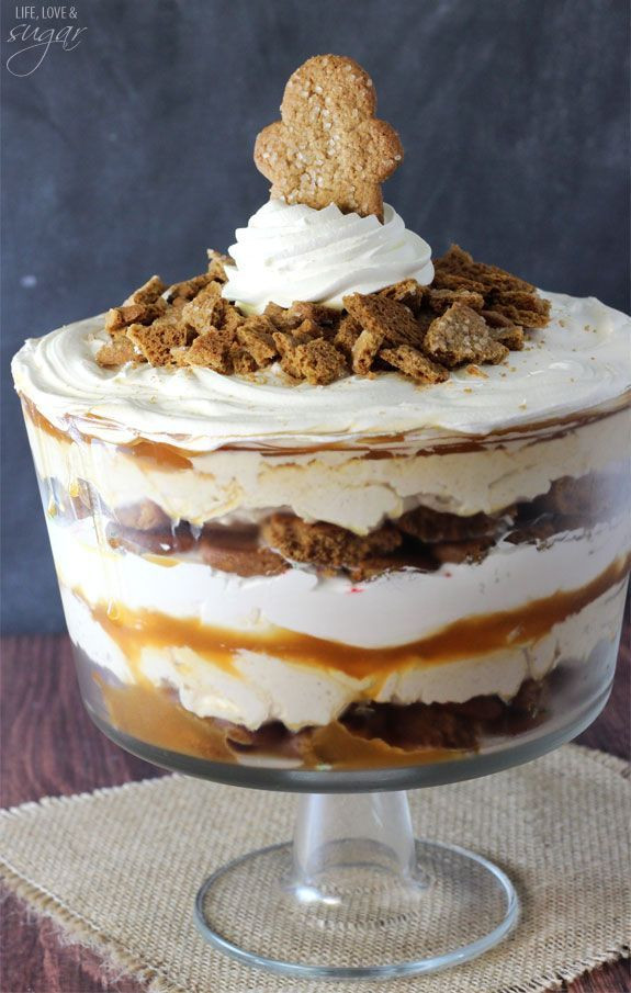 Christmas Trifle Bowl Recipes  Gingerbread Cheesecake Trifle Recipe
