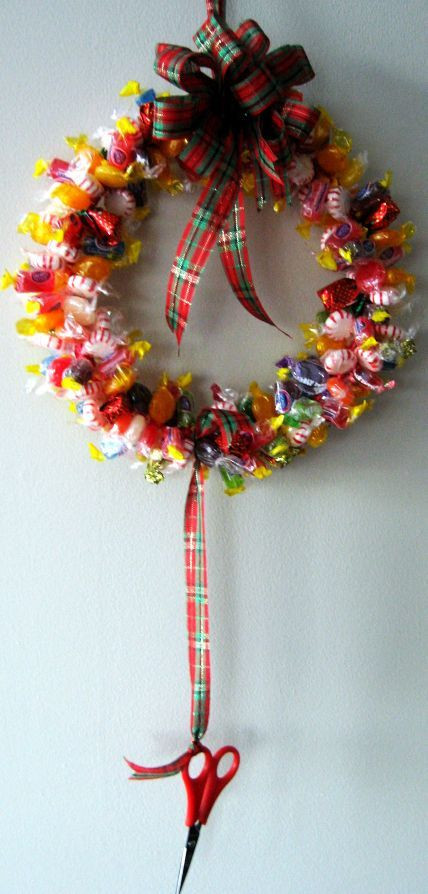 Christmas Wreath Candy  341 best images about Holiday Bazaar Craft Ideas on