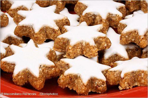 Cinnamon Christmas Cookies  German Zimtsterne Recipe Cinnamon Stars Christmas Cookies