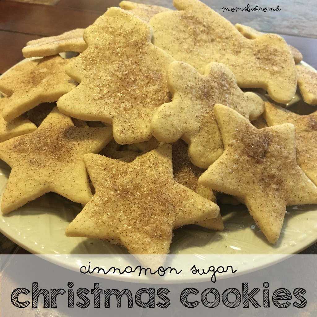 Cinnamon Christmas Cookies  Celebrate National Cookie Day with These Cinnamon Sugar