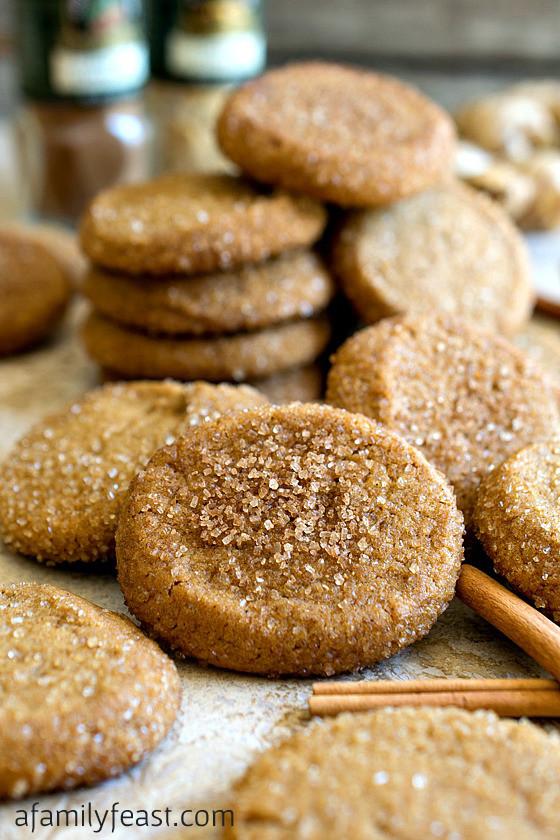 Cinnamon Christmas Cookies  Saigon Cinnamon Ginger Cookies A Family Feast