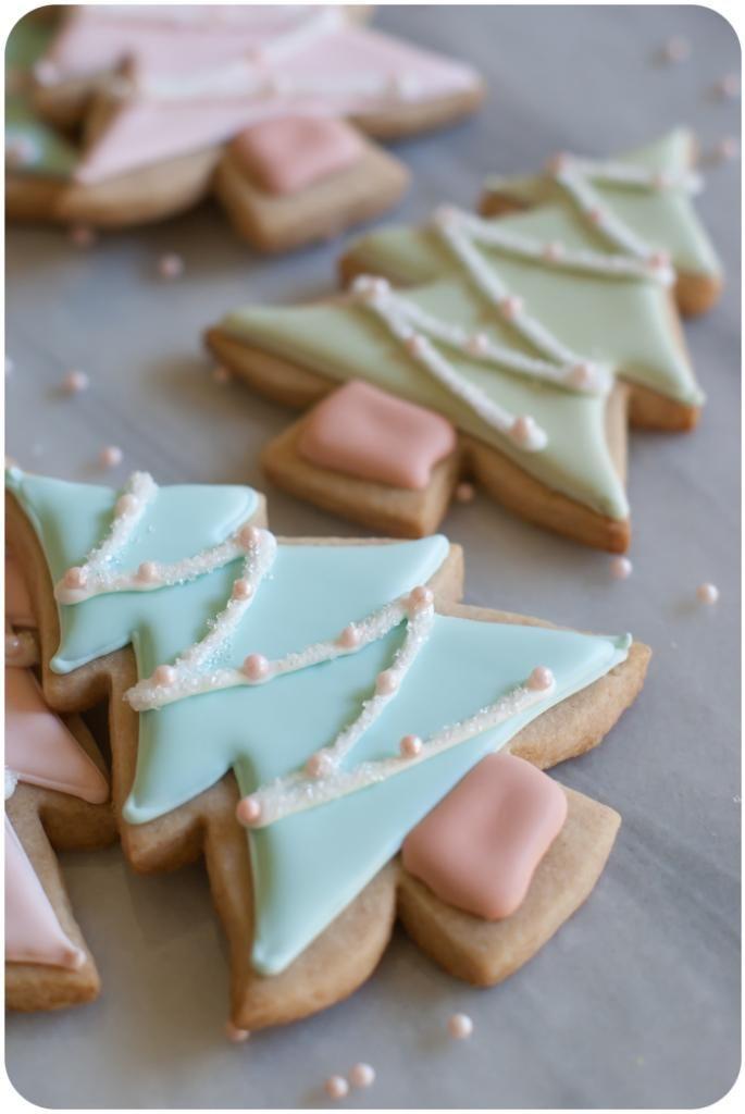 Cinnamon Christmas Cookies  Cinnamon Sugar Cut Out Cookies Bake at 350°