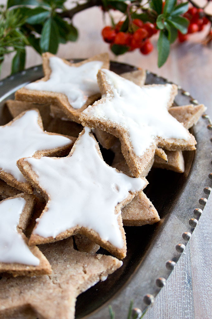 Cinnamon Christmas Cookies  Keto Cinnamon Stars German Christmas Cookies – Sugar