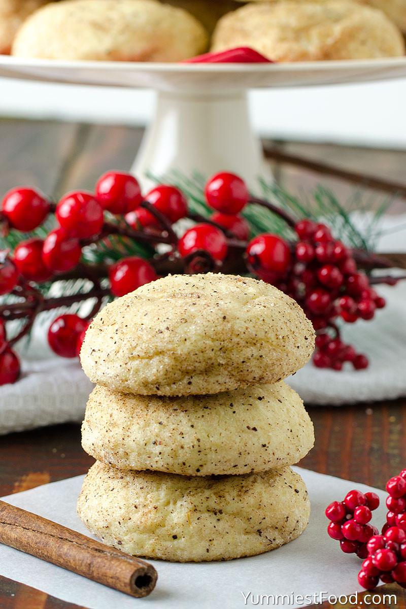 Cinnamon Christmas Cookies  Easy Cream Cheese Cinnamon Christmas Cookies Recipe from