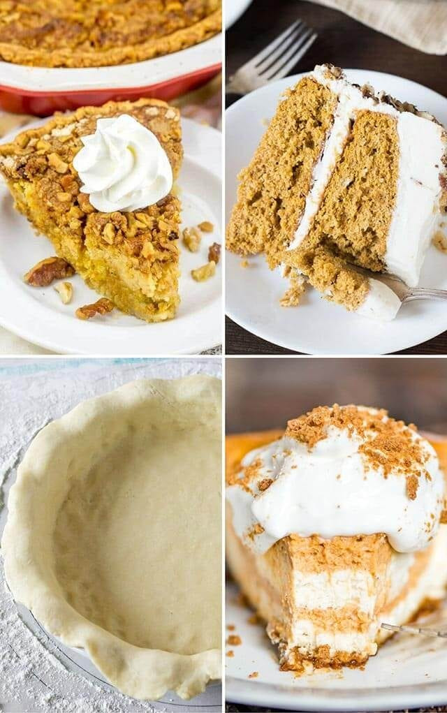 Classic Thanksgiving Desserts  Traditional Thanksgiving Dinner Menu Recipes Turkey