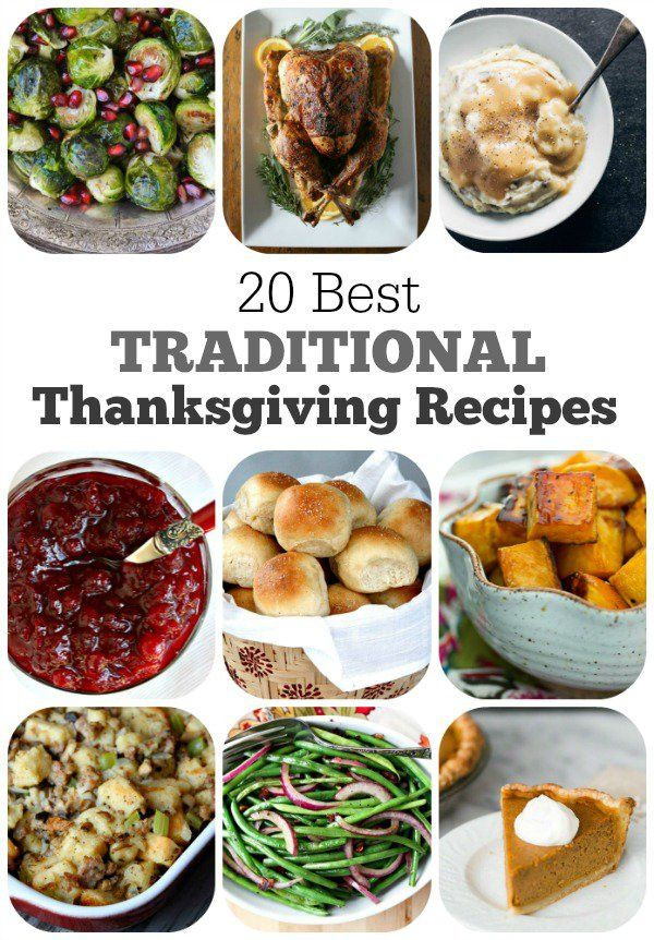 Classic Thanksgiving Desserts  100 Traditional thanksgiving recipes on Pinterest