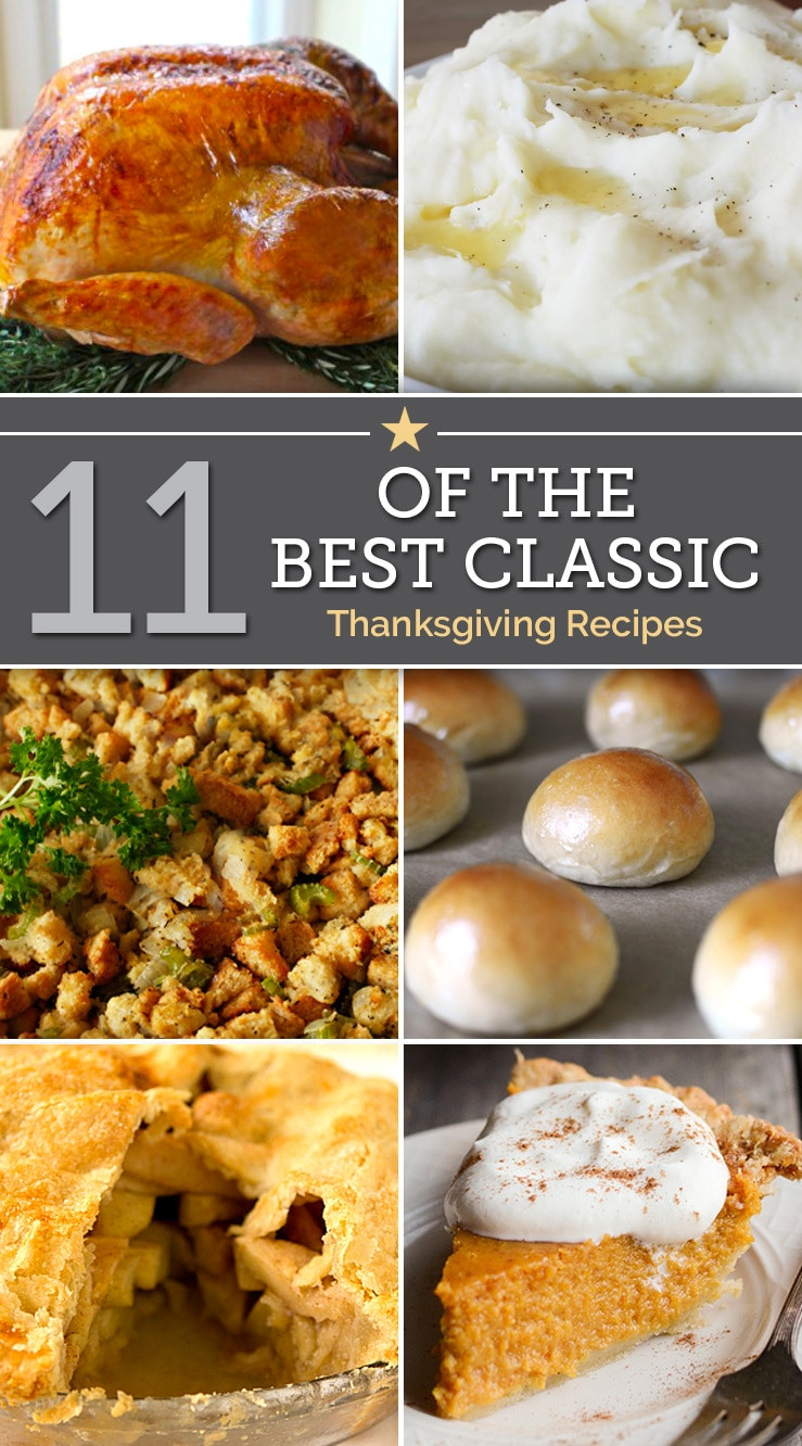 Classic Thanksgiving Desserts  11 of the Best Classic Thanksgiving Recipes thegoodstuff