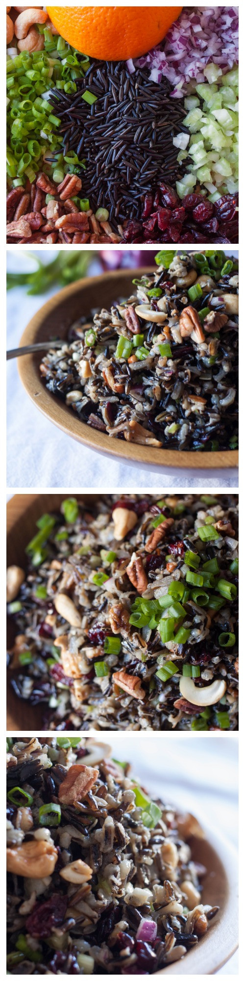 Cold Salads For Thanksgiving  Cold Rice Salad for Fall Made From Pinterest