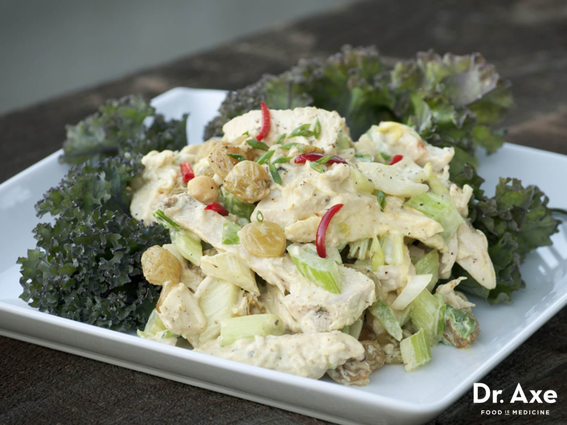 Cold Salads For Thanksgiving  Curried Turkey Salad Recipe Dr Axe
