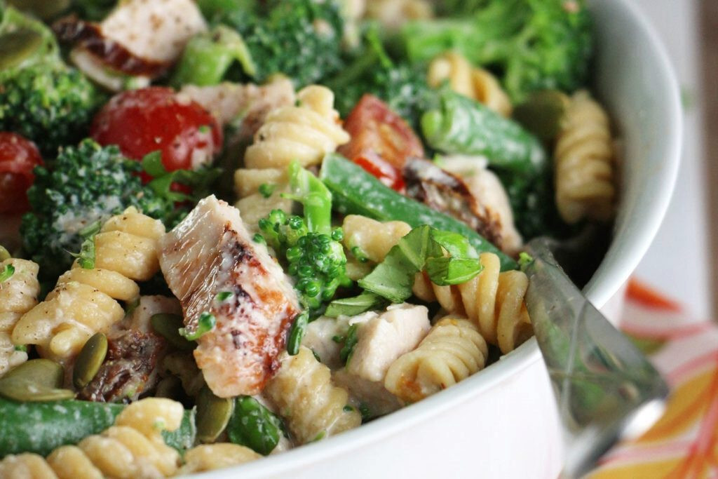 Cold Salads For Thanksgiving  Cold Turkey broccoli and Tahini Salad