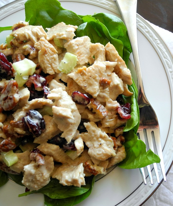 Cold Salads For Thanksgiving  Paleo Turkey Cranberry Salad with Pecans