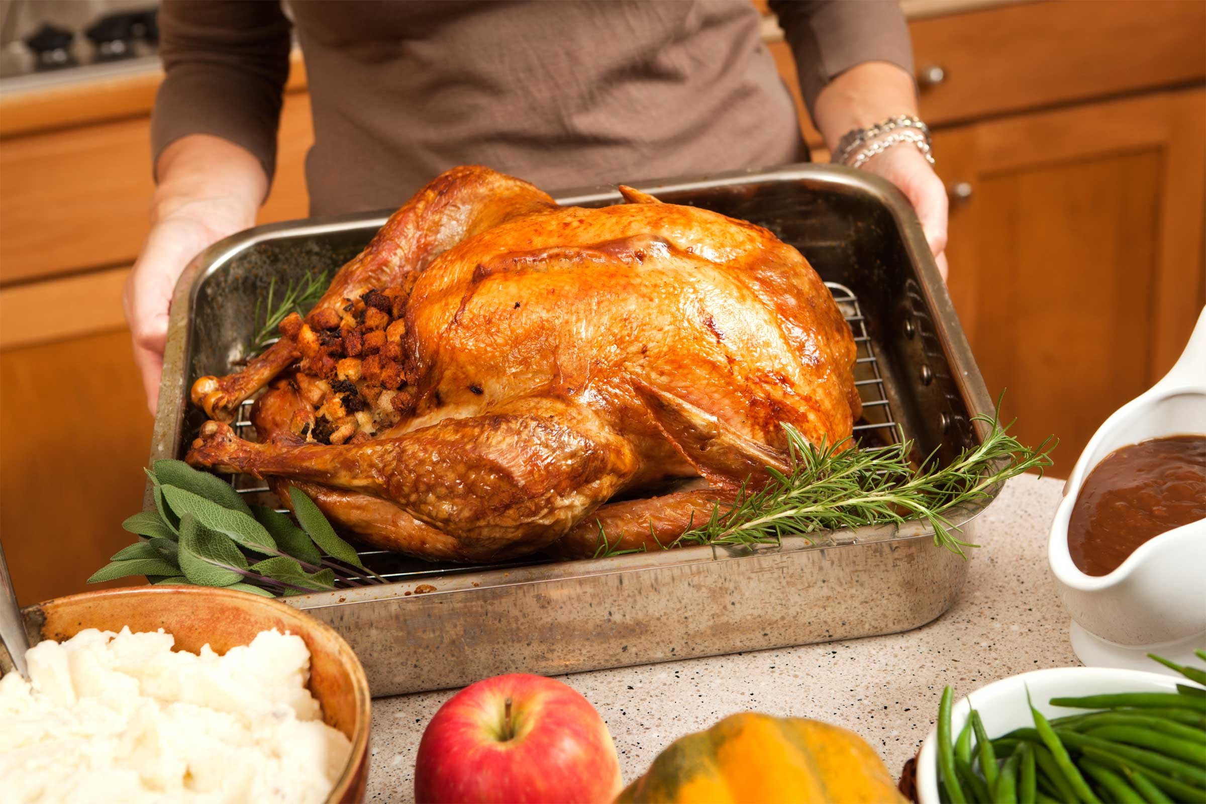 Cooked Thanksgiving Turkey  Tips for Buying the Perfect Turkey