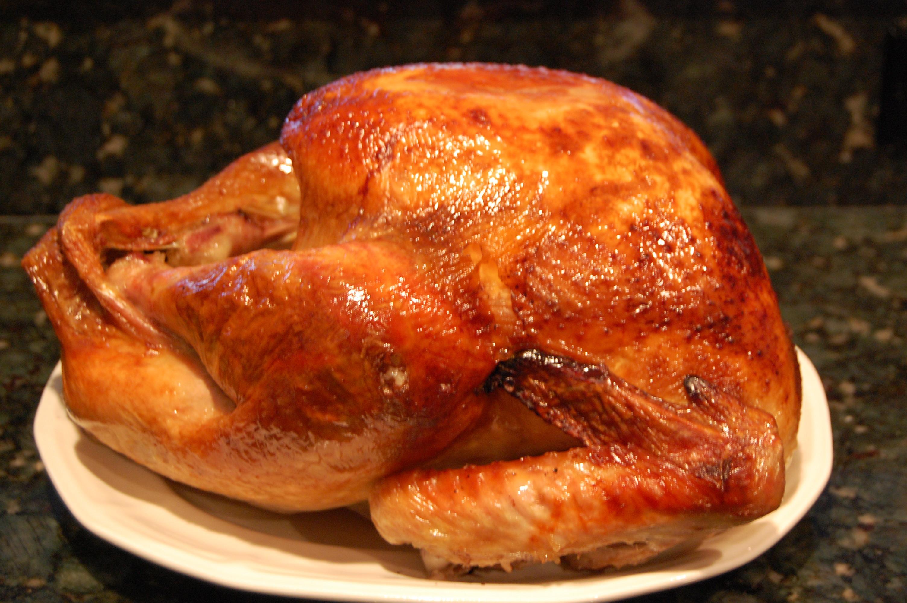 Cooked Thanksgiving Turkey  Roasted Turkey