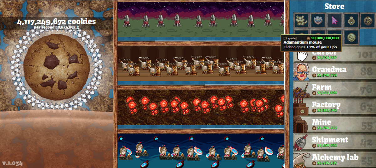 Cookie Clicker Christmas Cookies  Cookie er The Most Fun Pointless Game Ever