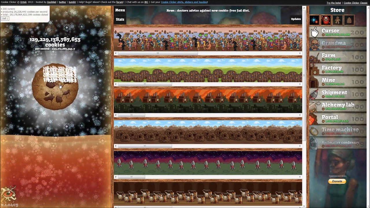 Cookie Clicker Christmas Cookies  Ketchupyoshi Plays Cookie er Episode 9 Santa Claus