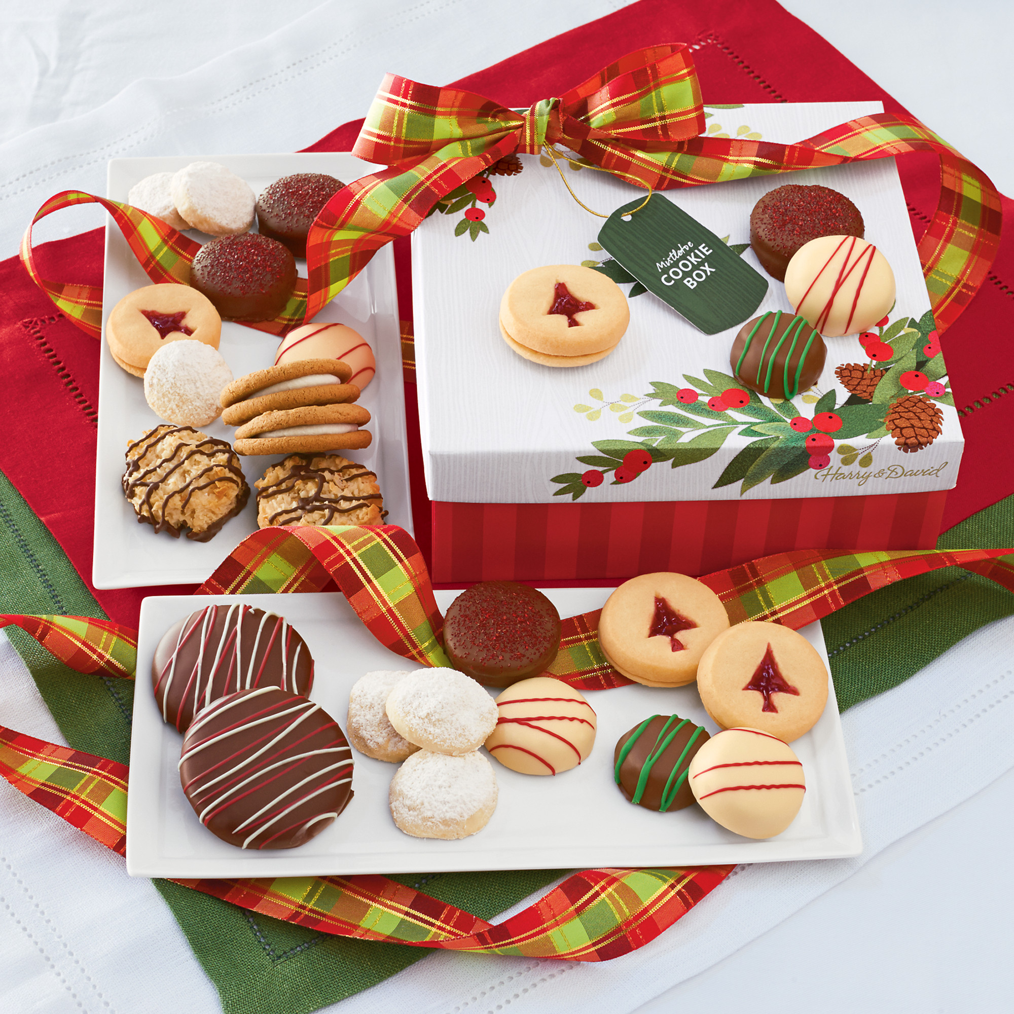Cookies For Christmas Gifts  Mistletoe Christmas Cookie Gift