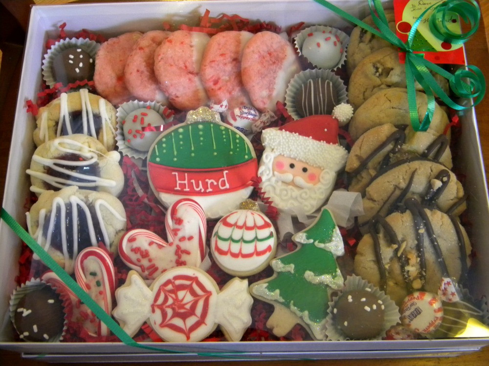 Cookies For Christmas Gifts  Occasional Cookies Christmas Gift Boxes