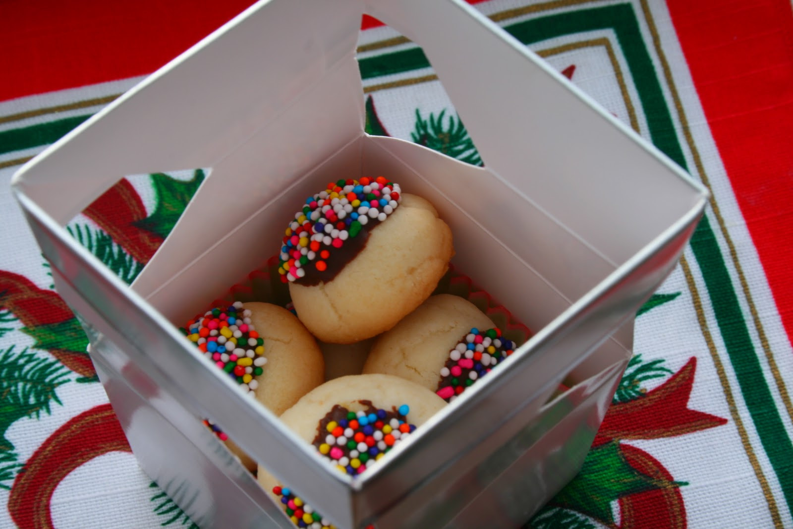 Cookies For Christmas Gifts  The Nesting Corral Homemade Christmas Gifts Cookies Boxes