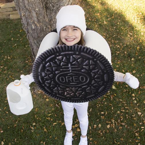 Cookies Halloween Costumes  Project Denneler Oreo Cookie Costume