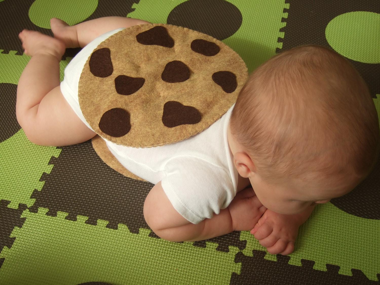 Cookies Halloween Costumes  Felt Chocolate Chip Cookie Costume DIY Felt Pack All the