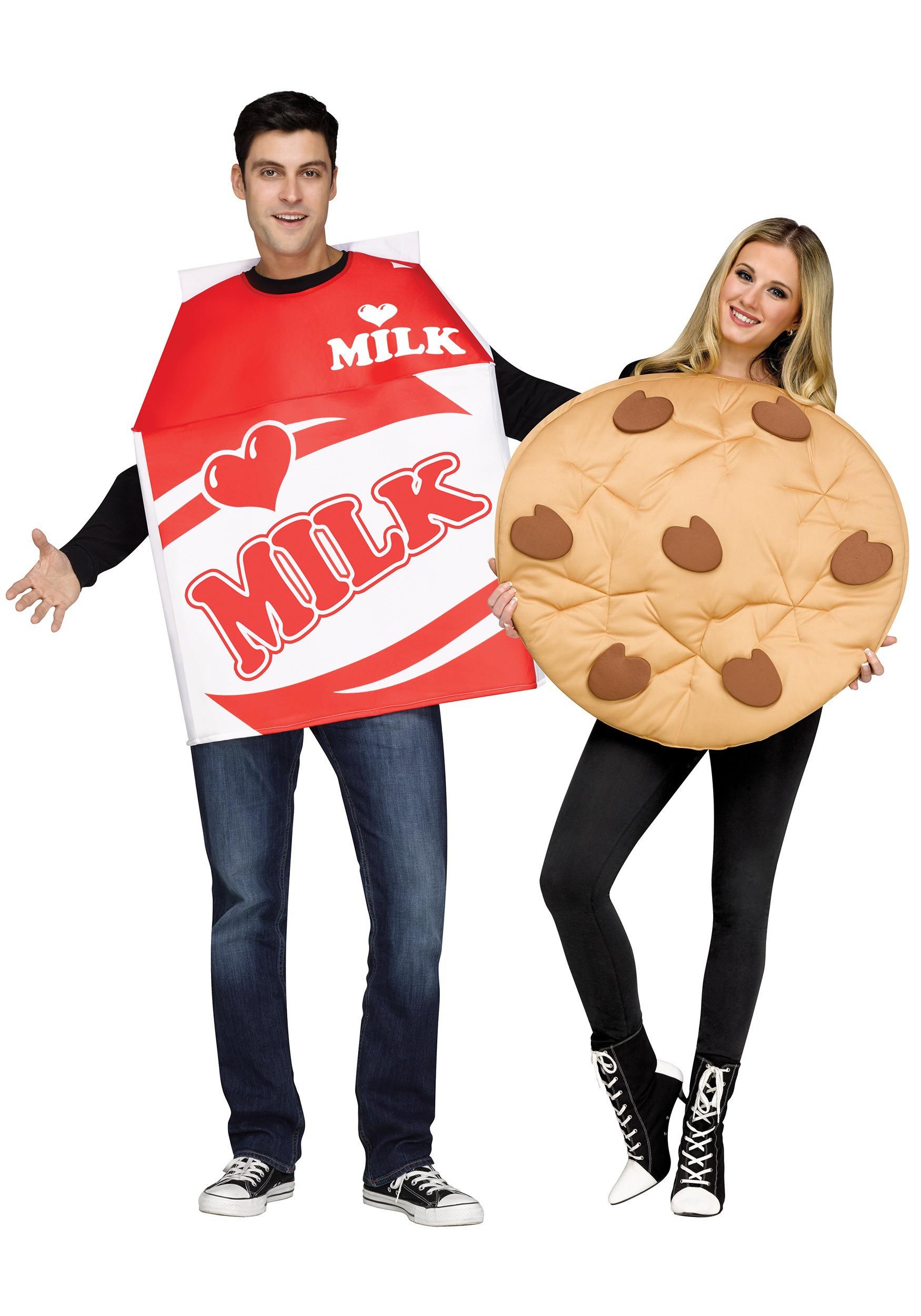 Cookies Halloween Costumes  Adult Cookies and Milk Costume