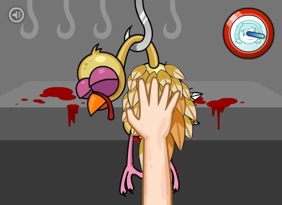 Cooking Mama Thanksgiving Turkey  Planet Blue Let s Play Cooking Mama Mama Kills Animals