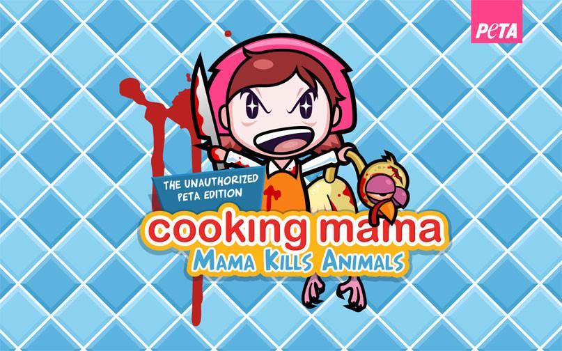 Cooking Mama Thanksgiving Turkey  Cooking Mama Kills Animals Happy Thanksgiving From PETA