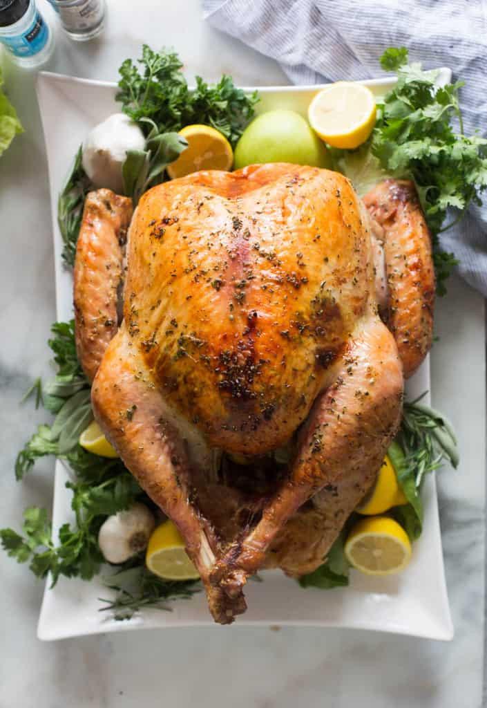 Cooking Thanksgiving Turkey  Easy No Fuss Thanksgiving Turkey Tastes Better From Scratch