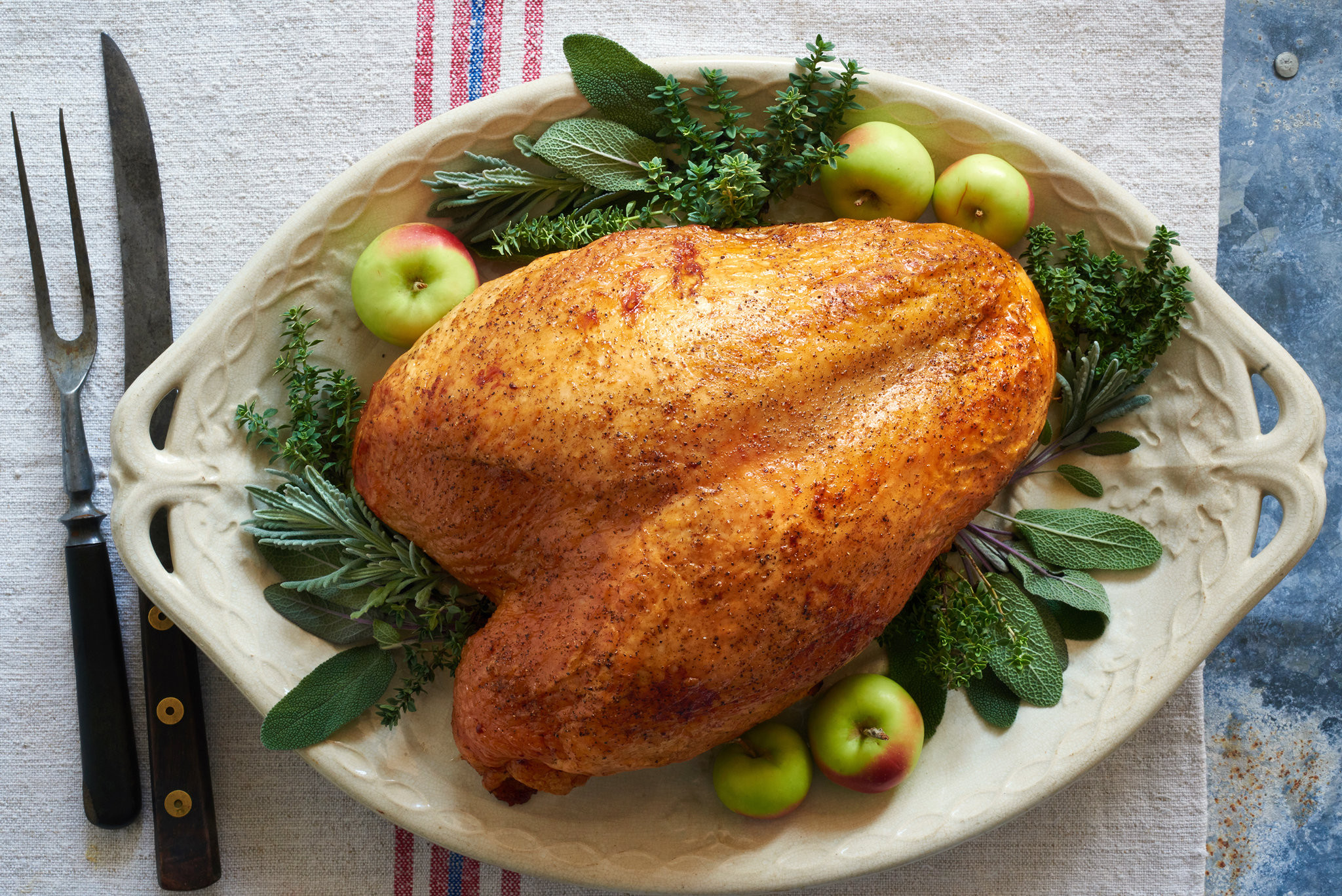 Cooking Thanksgiving Turkey  Roast Turkey Breast Recipe NYT Cooking