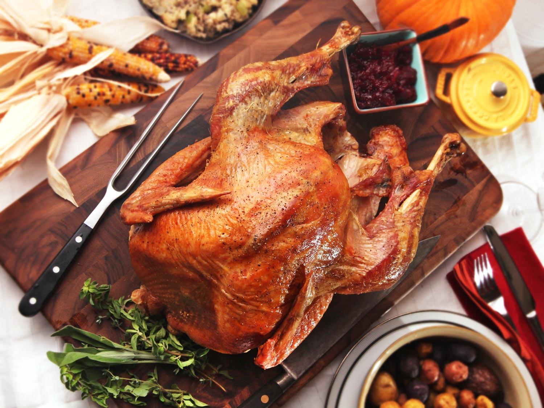 Cooking Thanksgiving Turkey  The Best Simple Roast Turkey With Gravy Recipe