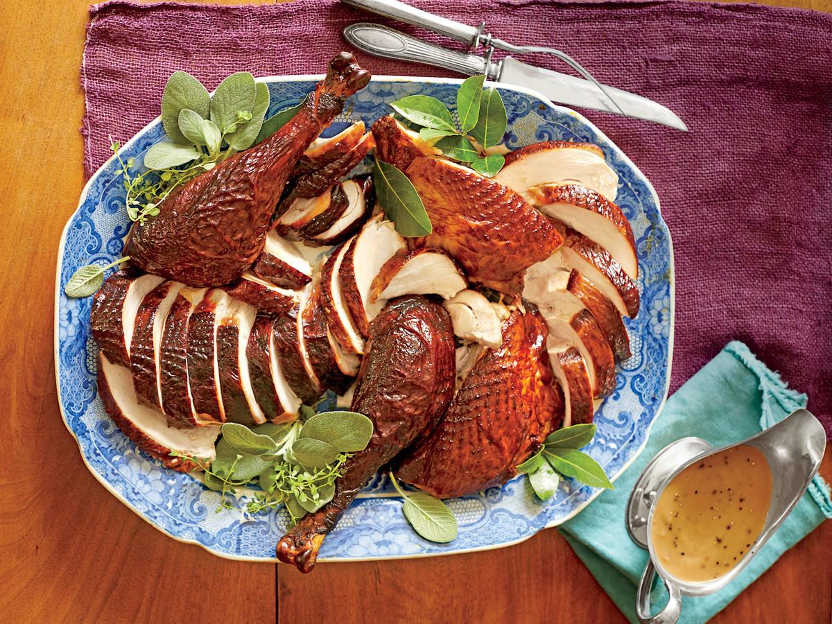 Cooking Thanksgiving Turkey  Turkey Gravy Recipe Southern Living