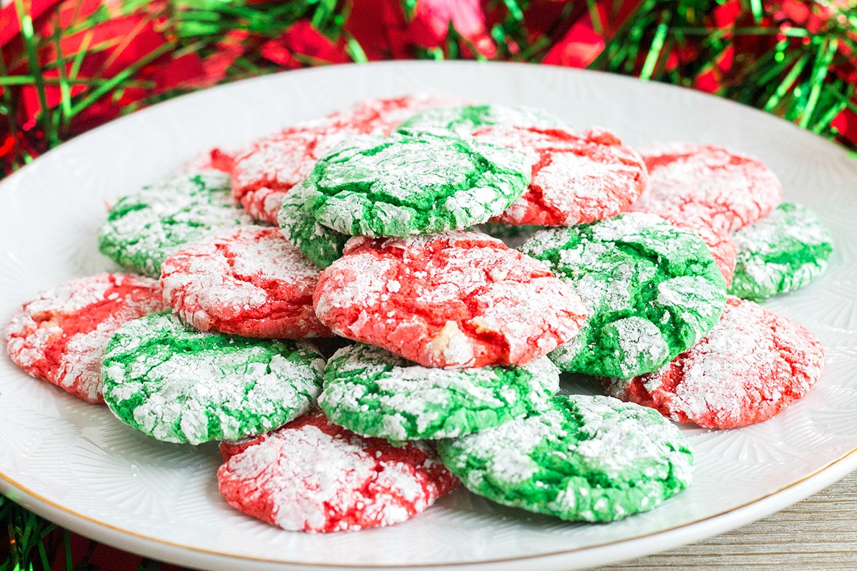 Cool Christmas Cookies  Christmas Crinkle Cool Whip Cookies • Bread Booze Bacon