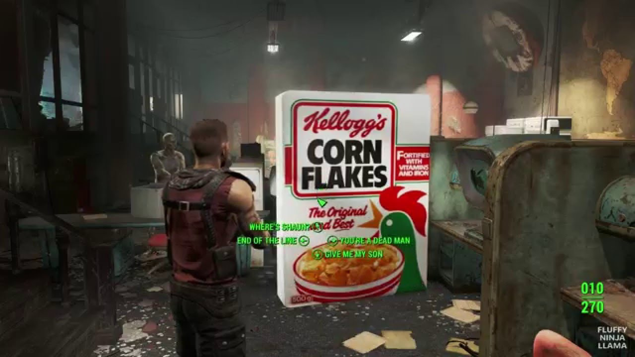 Corn Fallout 4  Fallout 4 Kellogg s fit OUTFIT