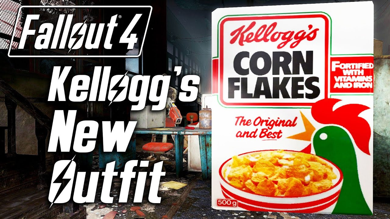 Corn Fallout 4  Fallout 4 Kellogg s New Outfit D