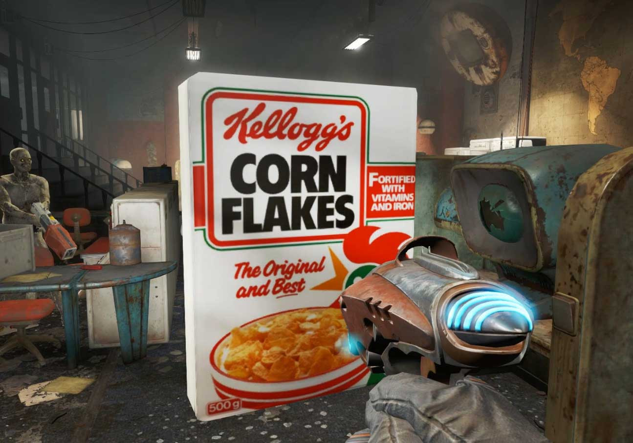 Corn Fallout 4  Fallout 4 modders are still doing important work VG247