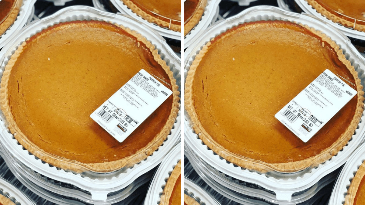 Costco Pies Thanksgiving  Costco s 4 Pound Pumpkin Pie Is Back Simplemost