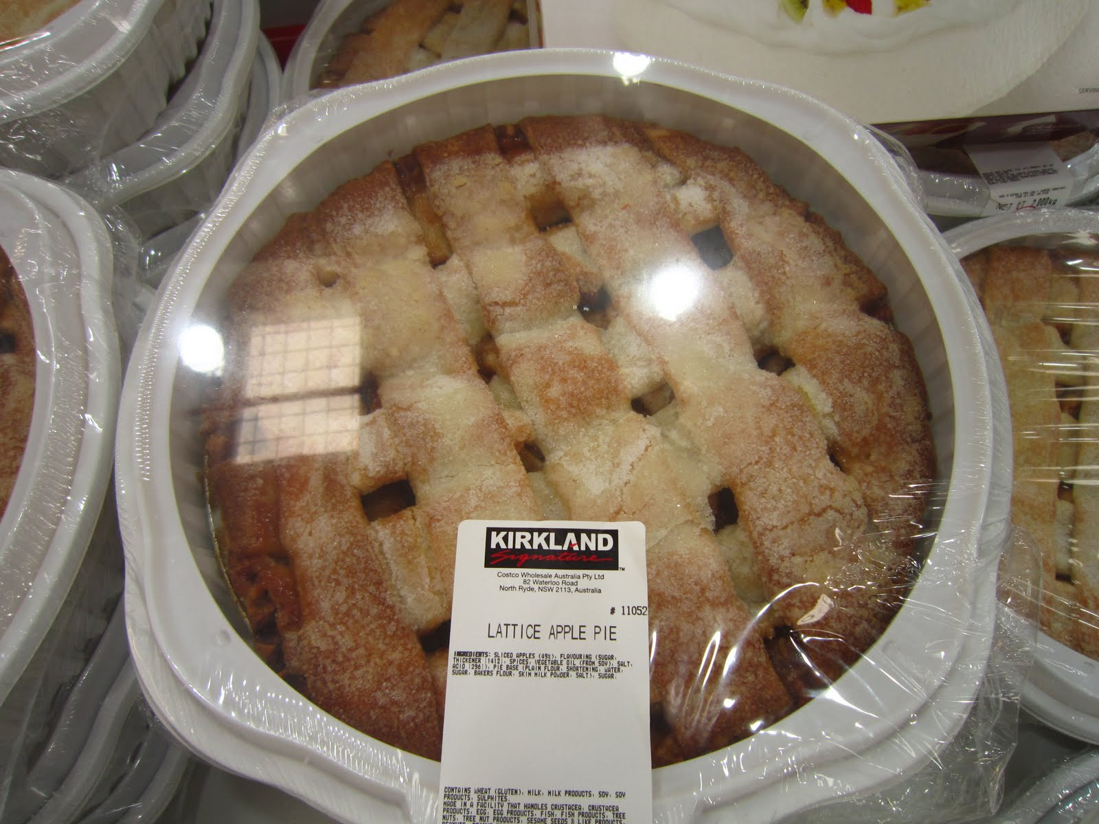 Costco Pies Thanksgiving  Plan A Costco Shit Show